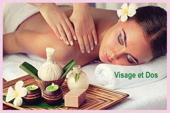 29 € au lieu de 65 € un soin du visage Personnalisé PLUS Massage du dos