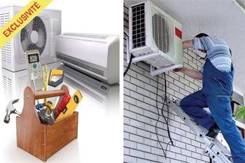 580 € au lieu de 720 € votre installation de climatiseur neuf  Kaysun sur toute La Guadeloupe
