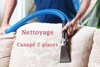 45 € au lieu de 60 € un nettoyage et shampoing de votre canapé 2 places par un professionnel qualifié de Guadeloupe (déplacement compris)