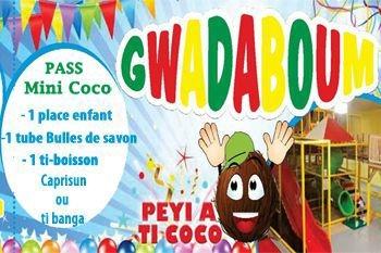 Viens t'amuser avec ton pass mini coco au parc intérieur des enfants de 10 mois à 3 ans et Deals Guadeloupe