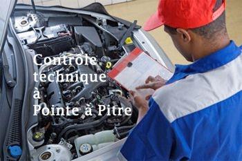 80 € le contrôle technique de votre véhicule essence ou diesel à Pointe-à-Pitre