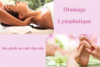 Massage « Équilibrant » des pieds jusqu'au cuir chevelu - drainage lymphatique manuel - à petit prix Deals Guadeloupe