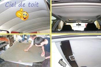 245€ au lieu de 310€ pour changer le tissu de revêtement du ciel de toit de votre voiture de tourisme grâce à Deals Guadeloupe
