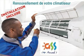 Renouvelez votre climatiseur par un climatiseur neuf A++ de qualité (déplacement et pose comprise) - prix imbattable sur Deals Guadeloupe