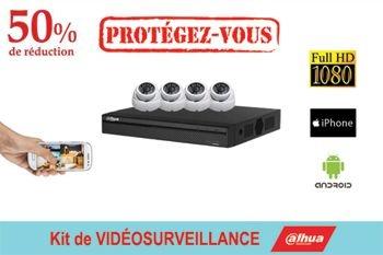 Faites installer une vidéosurveillance Dahua pour 790 € - vous ne trouverez pas moins cher - c'est une promotion Deals Guadeloupe
