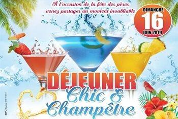 A l'occasion de la Fête des Pères venez profiter d'un Déjeuner Chic et Champêtre à 25 € à Sainte-Anne – un moment inoubliable et une ambiance garantie par Deals Guadeloupe
