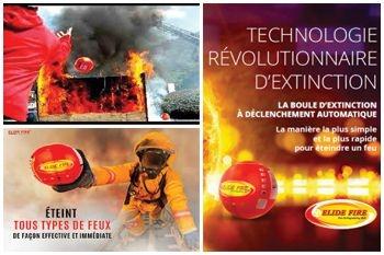 119€ au lieu de 150€ pour lutter rapidement et efficacement contre tout type de feu avec la boule d'extinction Elide Fire proposée par Deals Guadeloupe
