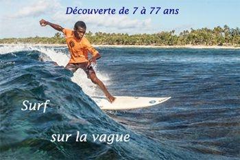 22€ au lieu de 28€ pour surfer sur la vague avec Deals Guadeloupe et un professionnel de la glisse
