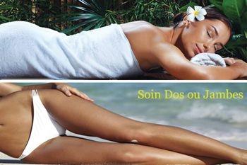 24€ au lieu de 55€ un soin Nirvana dos ou jambes. En exclusivité sur Deals Guadeloupe