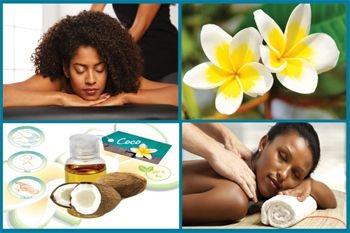 Prenez une pause à 29€ au lieu de 70€ avec le soin Polynésien du corps complet aux huiles exotiques proposé par Deals Guadeloupe