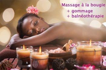 59€ au lieu de 145€ un soin beauté divine de 3 soins : gommage oriental, balnéo et massage à la bougie proposés par Deals Guadeloupe