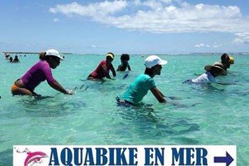 5 séances d'aquabike en mer pour vous dépenser avec plaisir avec Deals Guadeloupe