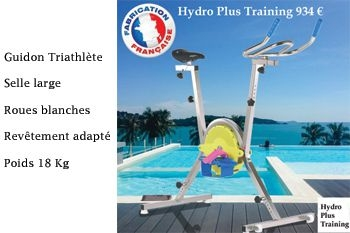 934€ au lieu de 1690€ cet Aquabike d'occasion Hydro plus Training de Deals Guadeloupe