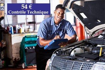 54€ au lieu de 90€ un contrôle technique automobile à petit prix Deals Guadeloupe