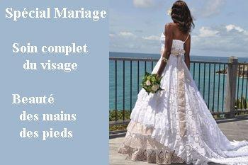 64€ au lieu de 125€ un pack spécial mariage de 3 soins pour vous sublimer grâce à Deals Guadeloupe