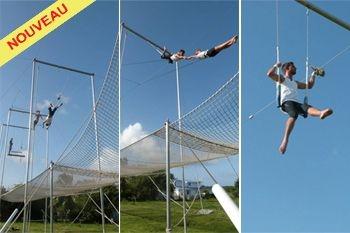 40€ au lieu de 50€ pour vivre des sensations inoubliables en trapèze volant avec Deals Guadeloupe