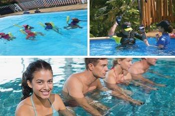 125€ au lieu de 196,50€ / nuit pour profiter de ce combiné Aquafitness et natation pendant 3 jours en famille - Ecolodge de luxe, piscine et vue mer avec Deals Guadeloupe