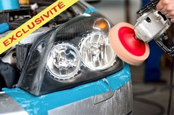 La rénovation de vos 2 phares de voiture par un professionnel expérimenté et Deals Guadeloupe