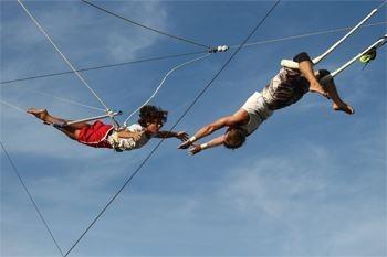 Vivez à 2 des sensations inoubliables en trapèze volant