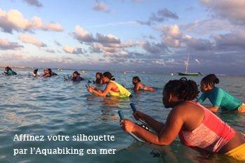 Sainte Anne - 3 séances d'aquabike en mer afin de modeler votre silhouette