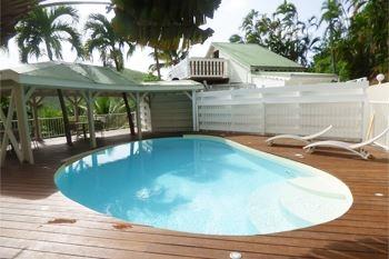 Deshaies – Séjour avec piscine et spa à partir de 3J/2N 6 pers. à 170€ / Nuit en Lodge de standing