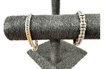 Un bracelet élégant pour homme tendance argent ou or argent