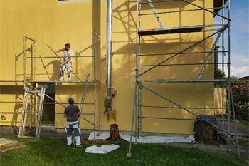 Forfait peinture Façade béton à 19.40 €/m2 pour votre maison par un peintre professionnel qualifié