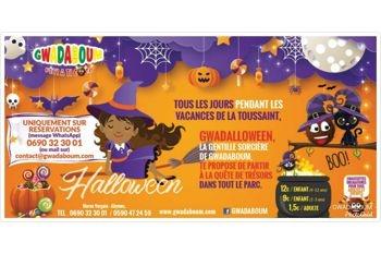 Les Abymes - Fêtez Halloween avec votre enfant pendant les vacances de la Toussaint à la recherche de trésors dans tout le parc de GwadaBoum