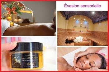 Sainte Rose – Un soin évasion sensorielle qui englobe cinq soins somptueux pour un prix cadeau de Noël