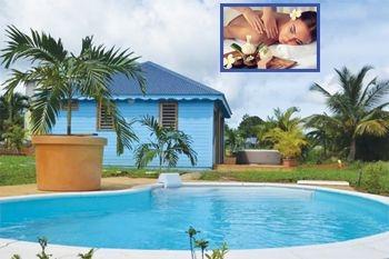 Ste Rose - Séjour 3J/2N 4 Pers. en bungalow avec Massage sensoriel du corps et Réflexologie plantaire