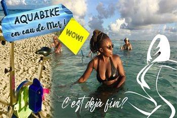 Sainte Anne - 5 séances d'aquabike en mer pour vous dépenser avec plaisir