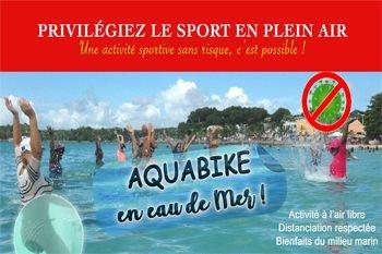 Sainte Anne - 10 séances de sport et plaisir en aquabike avec Deals Guadeloupe