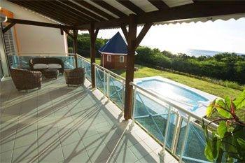 Deshaies – Séjournez dans un domaine complet privatisé pour 20 pers de 2 à 5 nuits avec piscine barbecue, plage privée à 60€ /Nuit /Pers